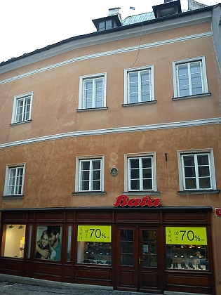 Rodný dům čp. 21 na českokrumlovském Latráně (viz i Karl Essl)