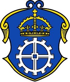Znak města Gauting, kde zemřel aje pochován, odvozuje se z legendy, že ve zdejším mlýně, zvaném Reismühle, se narodil císař Karel Veliký