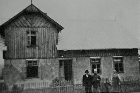 Její dům čp. 149 ve Vydřím Mostě