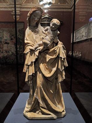 Krumlovská Madona, dnes ve sbírkách Kunsthistorisches Museum ve Vídni