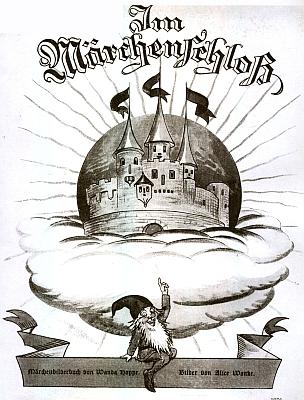 Obálka a titulní list jiné její knihy, vydané u Steinbrenerů ve Vimperku (1937) z fondu Národní knihovny v Praze, poskytnuté odtud jen v černobílé kopii