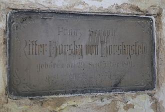 Hrobka rytíře Horskyho v Ovčárech