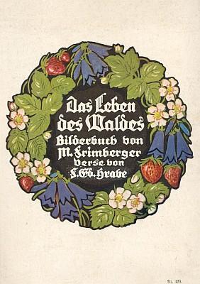 Obálka (1929) sbírky básní vydané uSteinbrenerů ve Vimperku