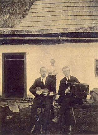 Tatínek s houslemi