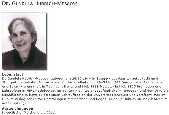 Její podobizna a životopis na webových stránkách Verlagsgruppe Husum