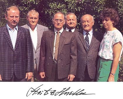S lenorskými krajanskými spolupracovníky (třetí zleva)