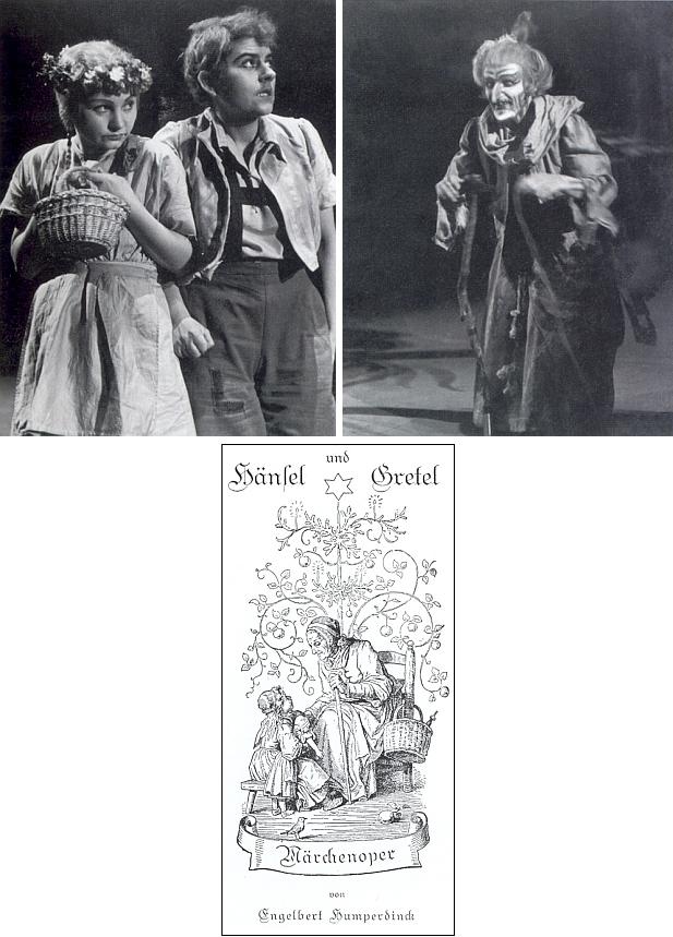 Na podzim 1943 se do pražské Německé opery (dnes Státní opera Praha) uchýlil operní soubor z Duisburgu, jehož působiště bylo zničeno při leteckém bombardování a který provedl v Praze mj. i Humperdinckovu Perníkovou chaloupku v rámci cyklu třinácti titulů, některé z inscenací střídavě i na prknech Stavovského divadla