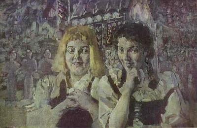 Obraz ruského malíře Michaila Vrubela z roku 1896, dnes ve sbírkách Běloruského muzea ruského umění v Minsku, zachycuje Jeníka a Mařenku v ruském provedení opery