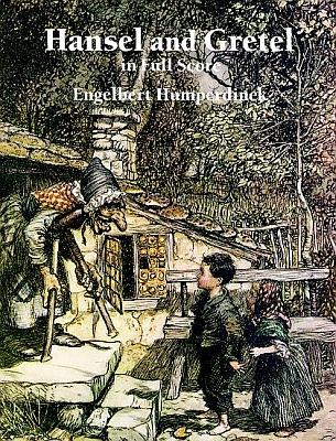Obálka (1995, Dover Publications) notového záznamu sreprodukcí kresby Arthura Rackhama (1867-1939) z roku 1909