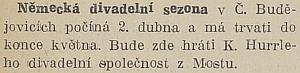 Zpráva v českém tisku z března 1935