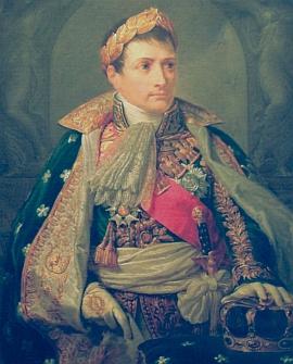 """""""Císař Francouzů"""" Napoleon Bonaparte byl několikrát protivníkem i spojencem knížete     Karla I. Filipa a oblíbil si jej jako rakouského velvyslance v Paříži"""