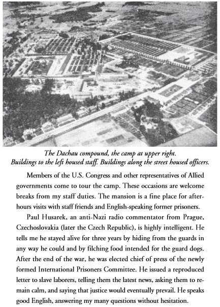 Svědectví amerického důstojníka o osvobození tábora v Dachau arozhovoru s Paulem Hussarekem