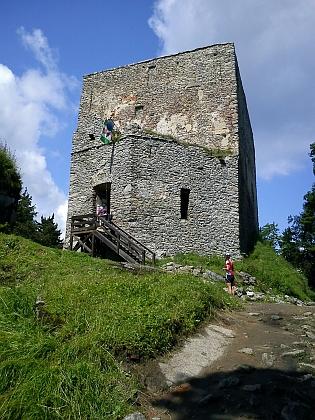 Vítkův Kámen v roce 2011