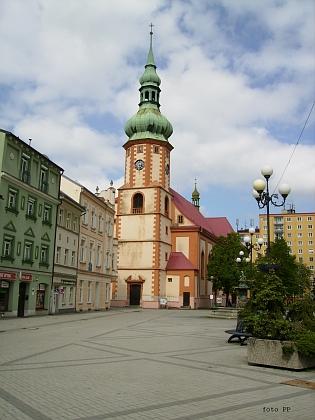 Farní kostel sv. Jakuba Většího v Sokolově