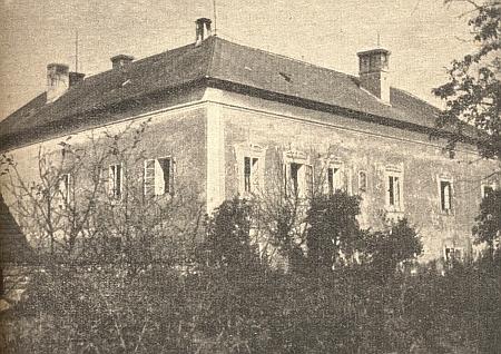 Budova arciděkanství v Horšovském Týně