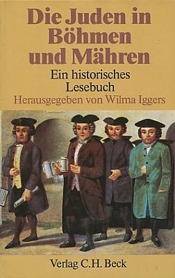Obálka (1986) historické čítanky o Židech v Čechách a na Moravě, kterou sestavila