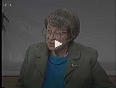 Interview s ní z roku 1990 je součástí kolekce orální historie Muzea holocaustu ve Washingtonu