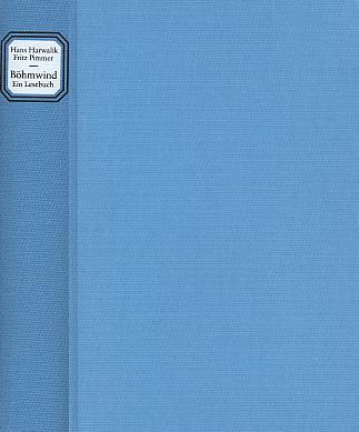 Vazba vimperské antologie s jeho nářečními verši (1989, Heimatsammlung Stadt Winterberg, Freyung)