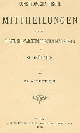 Obálka (1891) jeho práce