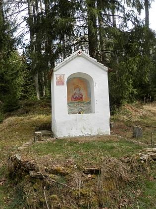 Dnešní stav kaple v Jehlici