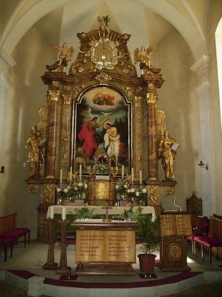 Kostel sv. Jana Křtitele v Harbachu