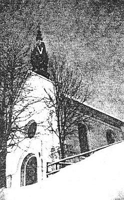 Kaple v blízkých Mýtinách (Kropfschlag), jak vypadala kdysi...