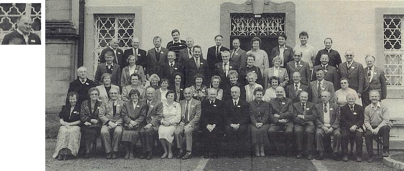 Mezi spolupracovníky krajanského časopisu Glaube und Heimat v roce 1990