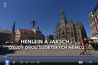 V roce 2011 odvysílala Česká televize v rámci cyklu Historie.cs pořad věnovaný Wenzelu Jakschovi a Konradu Henleinovi; pro ilustraci předválečné situace v Sudetech tu zazní i úryvek zČerveného Nepomuka Josefa Holuba