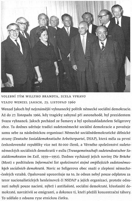 V knize Andrease Kosserta Chladná vlast, vydané roku 2011 v českém překladu, najdeme i tuto stránku o něm
