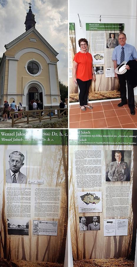 V roce 2019 byla v kapli v Dlouhé Stropnici zpřístupněna expozice, věnovaná historii obce a také přímo Wenzelu Jakschovi - otevření se zúčastnili i jeho dcera Mary a syn George