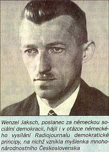Z archívu německého vysílání československého Radiojournalu