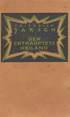 Vazba (1923) jeho románové prvotiny, vydané nakladatelstvím Heris (Hermann Richters Söhne) vLiberci