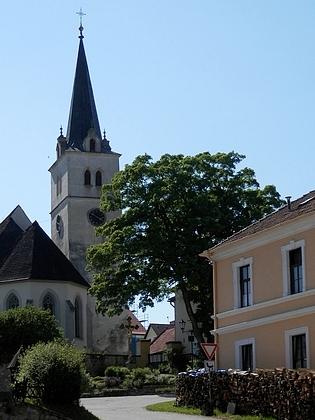 Kostel sv. Vavřince v Přídolí, kde začínal jako kaplan