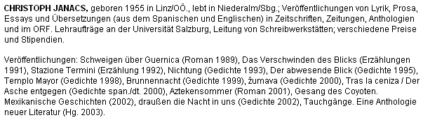 Jeho medailon na stránkách Linz aktuell z června 2003