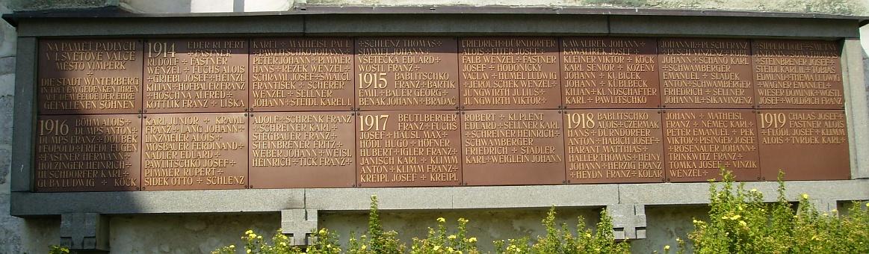 Detail památníku