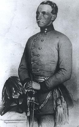 Fritz Hauer, syn Charlotty Hauerové, roz. Abeleové, Klostermannův strýc