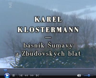 Dokumentární snímek v režii Zdeňka Flídra uvádí i vzácné svědectví o ní (stopáž 51:59 až 53:11), v podání Manfreda Pranghofera (další reportáž České televize o Karlu Klostermannovi viz zde)
