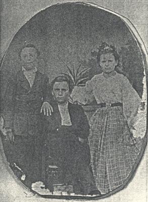 Další snímky dětí MUDr. Josefa Klostermanna: Fritz, Karl a Lina...