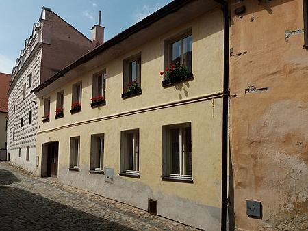 Rodný dům čp. 56 v prachatické Věžní ulici