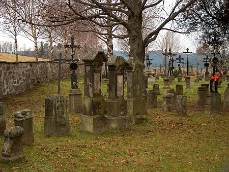 Hrob na želnavském hřbitově už dnes nelze identifikovat
