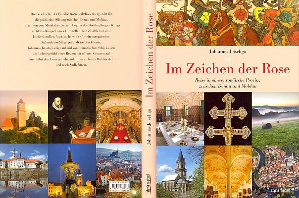 Obálka (2013, nakladatelství Styria regional) jeho knihy o rožmberském dědictví na jihu Čech     má v záhlaví výřez z barevné kresby Mikoláše Alše