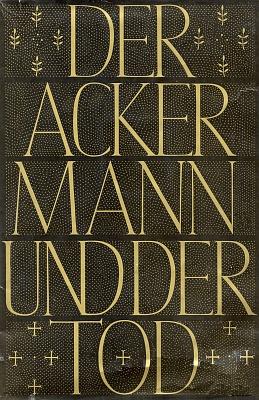 Obálka (1955) skvostného východoněmeckého vydání v berlínském nakladatelství Union Verlag s textem skladby v nové němčině, který pořídil Hans Franck (1879-1964)