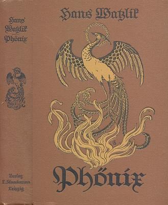 Vazba (1916) lipského vydání románu Hanse Watzlika, věnovaného právě Johannesově básnickému zjevu na pozadí středověkých Čech