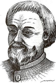 """Údajná podoba Johannese """"Henslina"""" (což je vlastně zdrobnělina od Johannes či Hans)"""