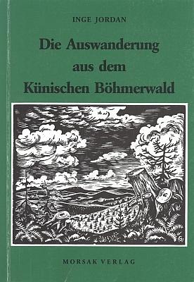 Obálka  (1995) její knihy s grafikou Waltera Grössla z nakladatelství MorsakVerlagGrafenau