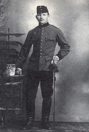 Její otec Hermann Kolbinger