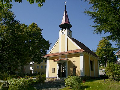 Kaple v Perneku po obnově