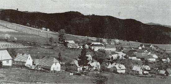 Němče (Niemsching), jedna z částí dnešní obce Větřní
