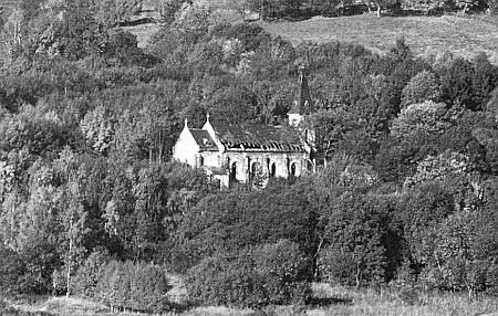 Kostel ve Zvonkové, když mu hrozila před pádem železné opony úplná zkáza