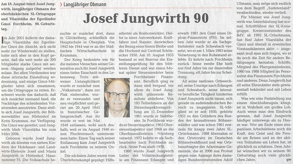 Celý text článku k jeho devadesátinám v krajanském periodiku